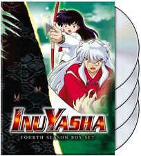 Inu Yasha: Fourth Season Box Set [4 Discs] (2013, REGION 1 DVD New)