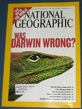 NATIONAL GEOGRAPHIC NOV 2004 DARWIN,MAYA,FIJI,TERROR