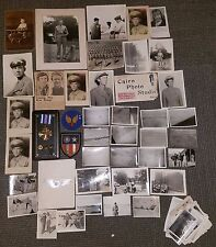 WWII Navigator Grouping DFC + Case With Over 100 Photos Squadron CBI Egypt