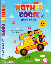 Mother Goose Club Educational DVD & CD set C - Nursery Rhymes - Songs (NEW)