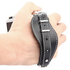 High Quality Black Leather Hand Grip Wrist Strap DLSR Camera for Hybird camera