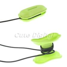 Green Turtle Smart Headphone Cable Wire Cord Wrap Winder Organizer Holder Fixer