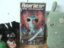 Friday the 13th Part VIII Jason Takes Manhattan - VHS
