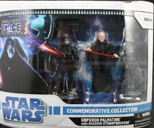 Star Wars Force Unleashed Pack Emperor Palpatine with Shadow Storm troopers