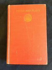 Poems and Plays by Robert Browning - Hardcover 1922
