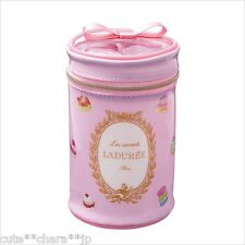 Japan 0097 LADUREE Macaron Japan Cylinder Pouch Patisserie Pink cute Kawaii