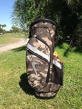 Nike Sport Cart IV Camo And Orange Golf Bag