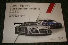 Le Mans - Audi Sport Customer Racing 2012 Press Media Guide - R8 LMS Ultra