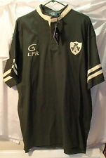 LFR Green Ireland Live for Rugby Jersey Shirt Mens XL Shannon Heritage