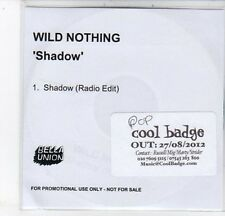 (DC721) Wild Nothing, Shadow - 2012 DJ CD