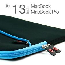 "13"" Notebook Soft Sleeve Case Bag Blue for Apple MacBook MB Air 13.3 inch Laptop"