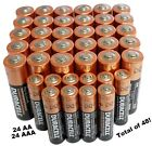 Duracell 24 AA + 24 AAA Batteries Coppertop Alkaline Long Lasting Bulk 48 Total