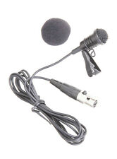 Clip-on Lavalier Lapel Microphone Mic for Shure SLX PG1 ULX KCX GLX BLX Wireless