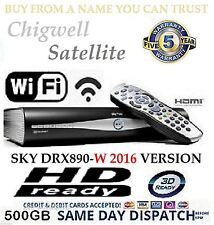 SKY Plus + HD BOX WIFI - 500 GB-SKY Amstrad drx890w costruita in wireless su richiesta