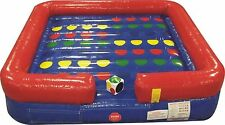 Inflatable Twister Game Fun For All 14' x 14' Easy Set Up Free Dice In Stock
