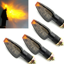 4x Amber LED Turn Signal Indicator Light Universal Motorcycle Triumph Yamaha KTM