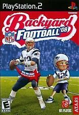 Backyard Football NFL 2008 Back Yard COMPLETE PS2 w BONUS BOOK LN