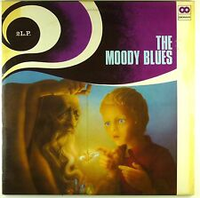 """2x 12"""" LP - The Moody Blues - The Great Moody Blues - #A3179 - washed & cleaned"""