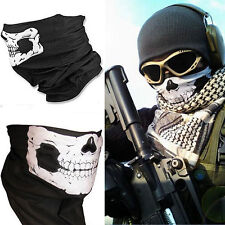 5pcs Stretchable Tubular Skull Face Mask Motorcycle Biker Headkerchief-US