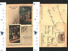 MONTELEONE SABINO (RI) -CHIESA DI S.VITTORIA - 2 VEDUTE:FACCIATA E INTERNO-29349