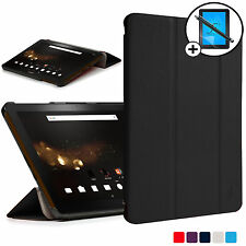 Noir pliable smart case cover Acer Iconia Tab 10 A3-A40 screen prot stylet