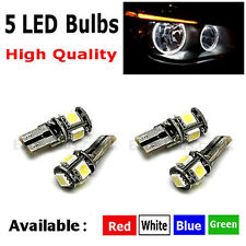 4x BMW 5 Series E60 E61 PRE LCI ANGEL EYE HALO RING CANBUS BULB LIGHT WHITE LED