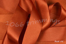 Satin Ribbon Double Sided Choice of 8 Widths 3mm to 70mm Berisfords 3501