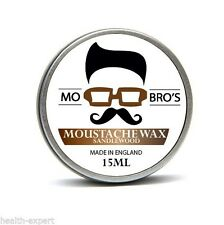 Mo Bro's - Sandalwood Moustache Wax 15ml Tin Made in England