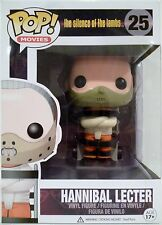 "HANNIBAL LECTER The Silence of the Lambs Pop Movies 4"" Vinyl Figure #25 2014"