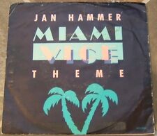 Collection of Jan Hammer 45 RPMs on Mca,  Lot of 2 With Picture Sleeves