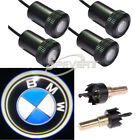 4X LED Car Door Welcome Laser Projector Logo Ghost Shadow Light For BMW
