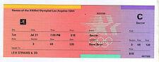 Orig.Ticket    Olympische Spiele LOS ANGELES 1984    USA - ITALIEN  !!  SELTEN
