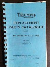 Triumph Parts Catalogue for Tiger TR6R Trophy TR6C Bonneville T120R Part 1 Copy