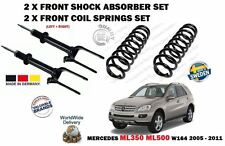 FOR MERCEDES ML350 ML500 W164 2005-  2X FRONT SHOCK ABSORBER + 2 COIL SPRING SET