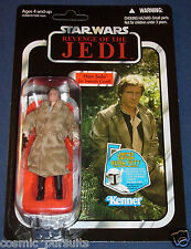 STAR WARS HAN SOLO TRENCH COAT 1x x1 VINTAGE COLLECTION FIGURE VC62 REVENGE JEDI