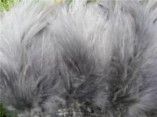 "3 PACKAGES of 3"" to 5""  GRAY SCHLAPPEN FEATHERS - BUY MORE, SAVE MORE!"