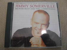 JIMMY SOMERVILLE-SINGLES COLLECTION- ISRAELI ISRAEL ULTRA RARE SPECIAL PROMO CD