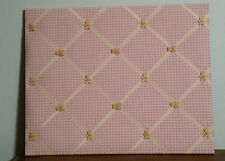 Pink Fabric w/ teddy bears Memory Board/ Wall Decoration/Picture Board