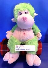 Kelly Toy Green and Pink Monkey plush(247-1)