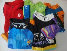 LOT of 5 PRIMAL WEAR SUGOI CANNONDALE GIORDANA  CYCLING BICYCLE JERSEY MEN'S L