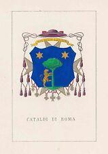 Araldica stemma araldico della famiglia Cataldi di Roma