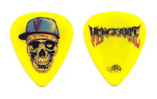 Avenged Sevenfold Zacky Vengeance Yellow Guitar Pick 2010 Tour