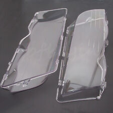For BMW E46 3 Series 2x Coupe Convertible 4D Clear Headlight Head  Lenses Cover