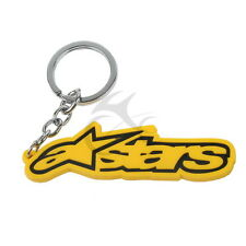 New Off-road Motorcycle Rubber Keychain Key Chain Keyring For Alpinestars Jacket
