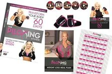 PILOXING SYSTEM 5 DVD SET GLOVES & GUIDES VIVECA JENSEN EXERCISE WORKOUT NEW