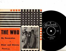 THE WHO 7'' PS My Generation SWEDEN BRUNSWICK 05944 RARE MOD COVER Swedish 45