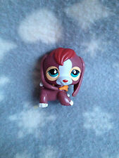 Littlest Pet Shop #849 red brown beagle with green eyes teardrop