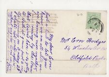 Mr Ern Hodges Winchester Road Oldfield Park Bath 1907 430a