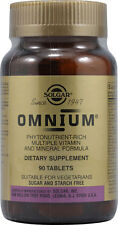 Solgar Omnium Multiple Vitamin  90 Tablets