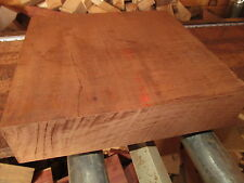 HUGE EXOTIC KILN DRIED SAPELE PLATTER BLANKS LUMBER WOOD TURNING ~18 X 18 X 2""